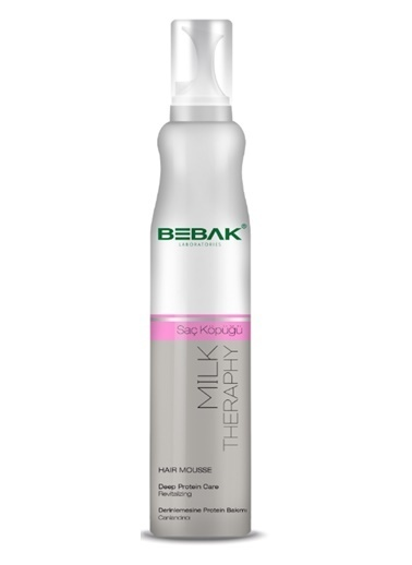 Bebak Bebak Milk Therapy Hair Mousse 200ml Renksiz